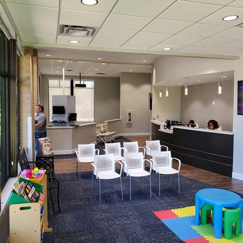 Dr. T Waiting Area Constructed by Merit Construction